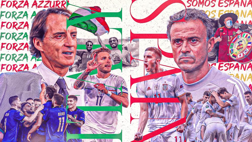 欧洲杯意大利VS 西班牙插图
