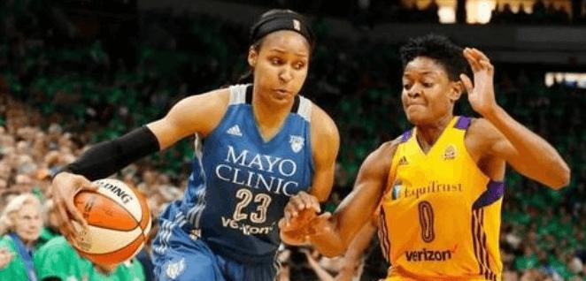 WNBA  明尼苏达天猫 VS 达拉斯飞翼插图